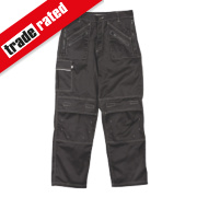 Site Terrier Classic Work Trousers Black 32